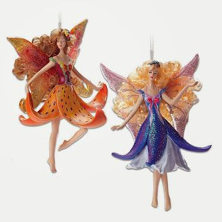 Top Five Cutest Fairy Christmas Tree Ornaments | Themed Christmas ...