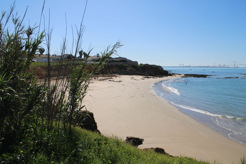 playa de la calita en El Puerto de Santa Maria
