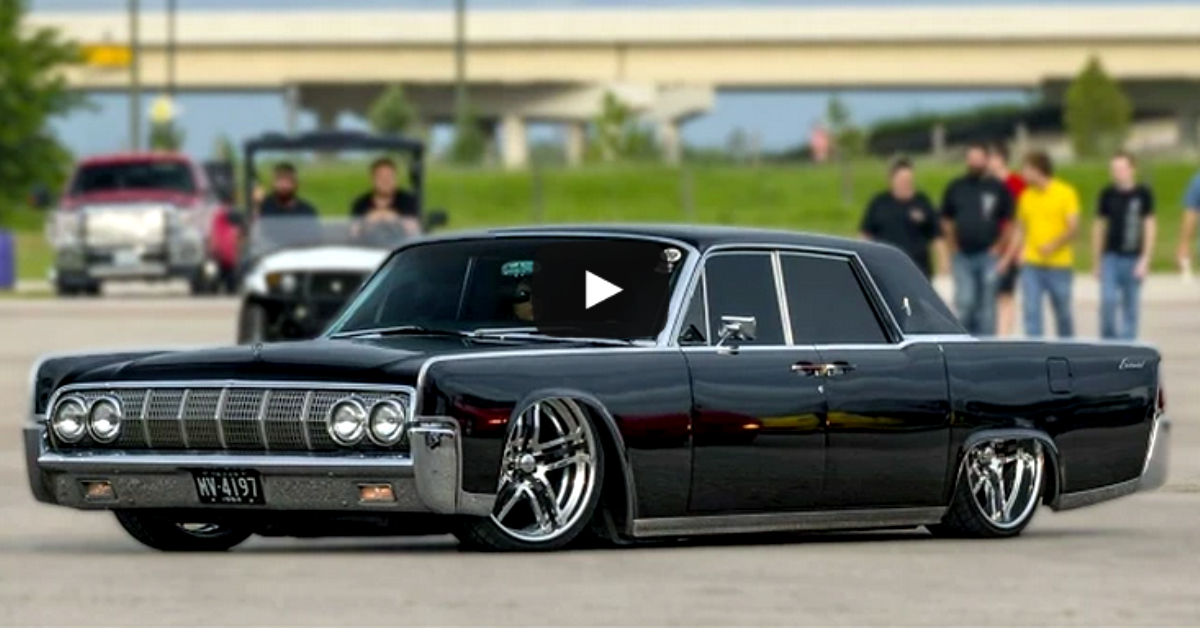 1964 Lincoln Continental Custom Ride Check It Out