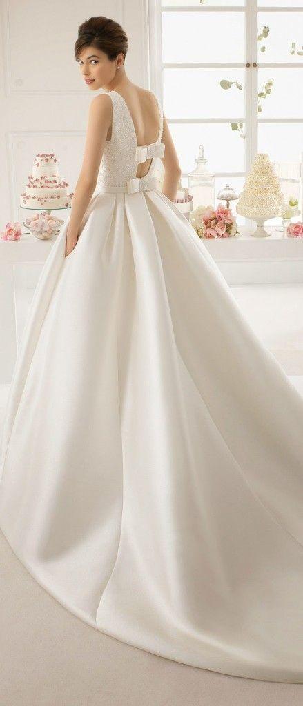 colección de vestidos de novia aire barcelona 2015 | wedding