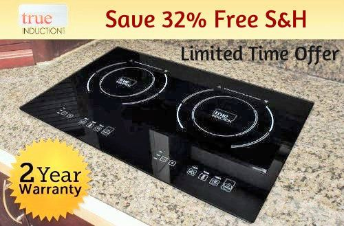 1800w Double Burner Counter Inset Model