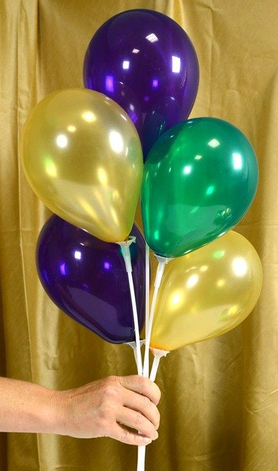 Air filled balloon centerpieces ideas tutorials