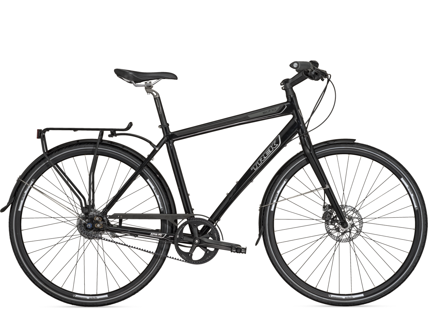 Trek Soho Deluxe With A Gates Carbon Belt Drive Disc Brakes And