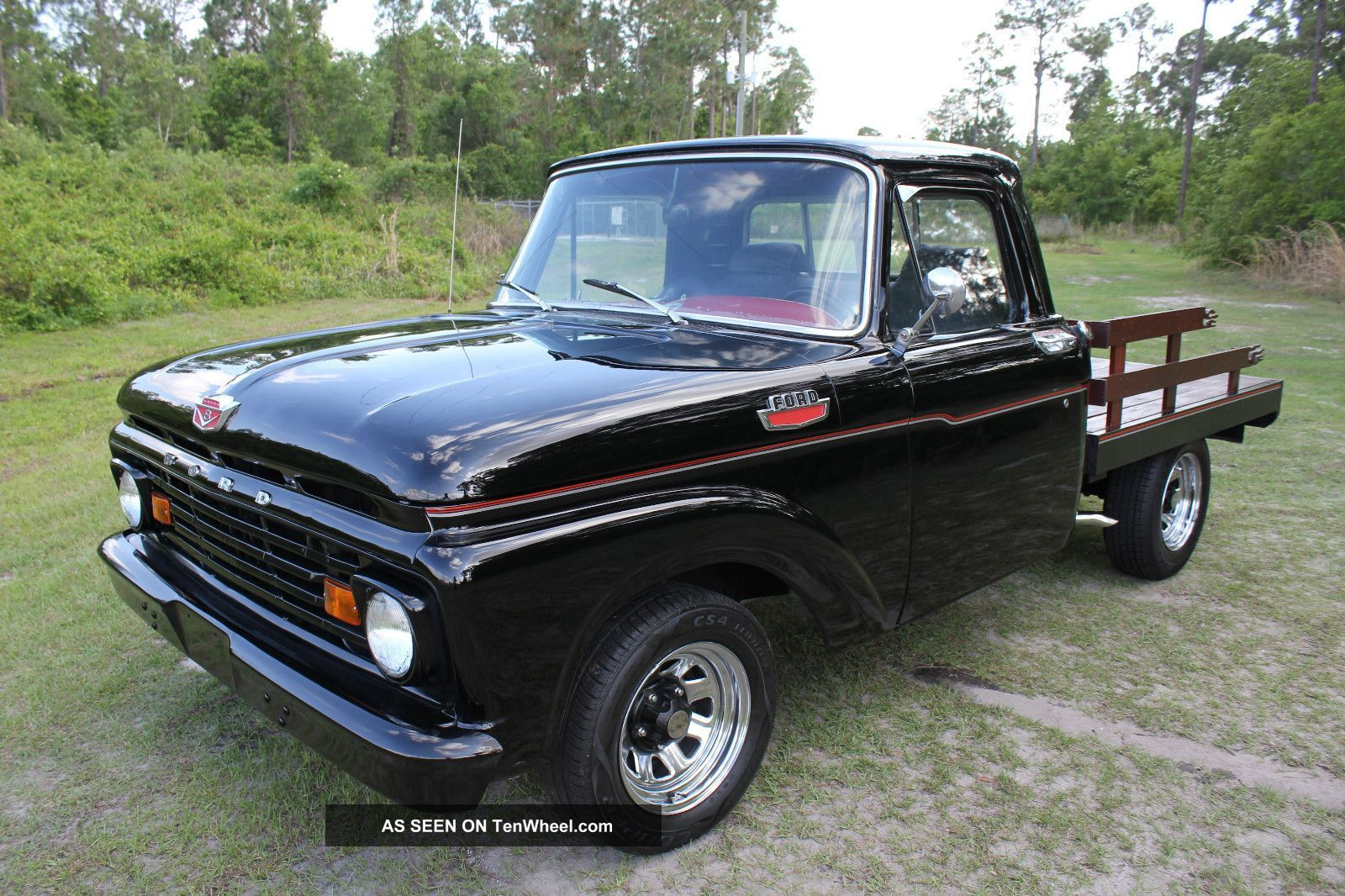 1963 ford f 100 custom cab pick up truck f100 make me an offer f