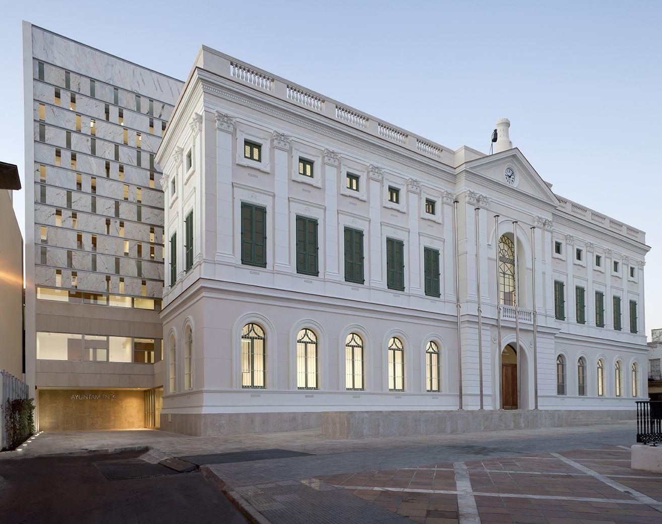 Extensão do City Hall do Porto de Santamaría / Daroca Arquitectos