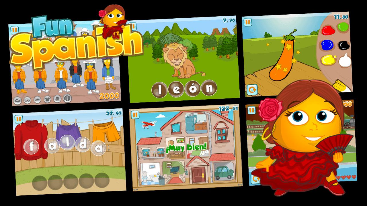 Fun Spanish Educational apps for kids, Kids app