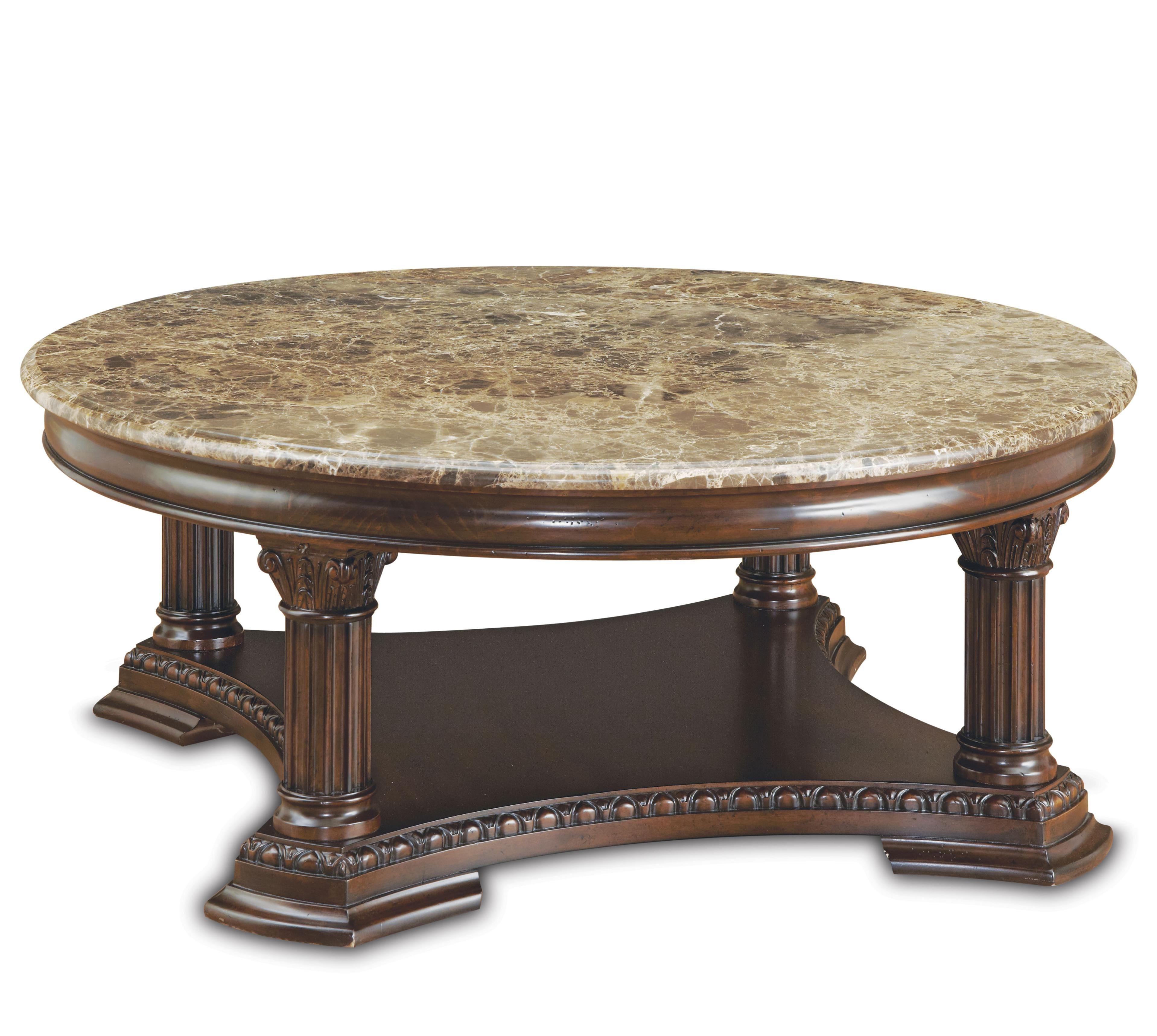 Capri Round Cocktail Table By A R T Furniture Inc Furniture