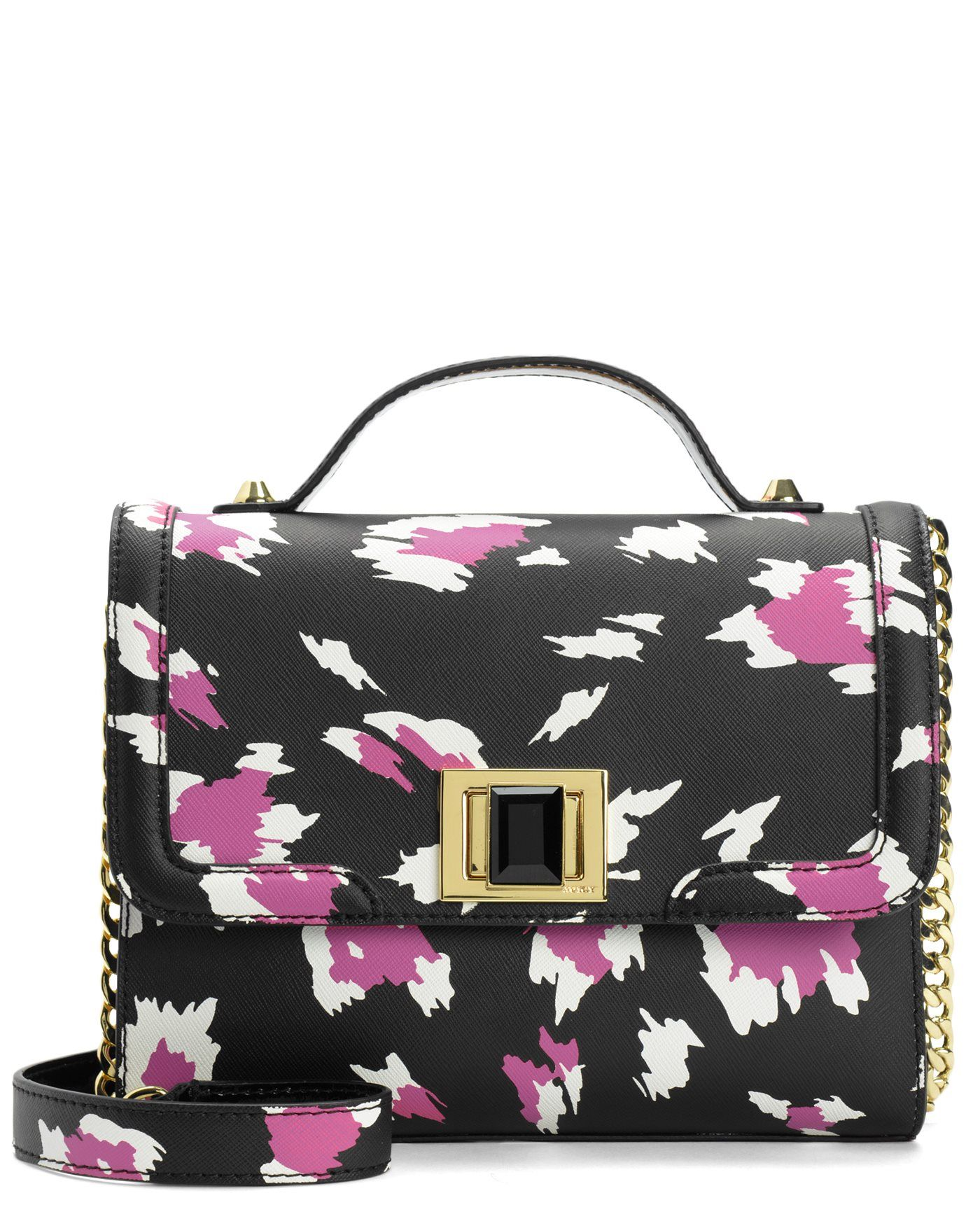 WILD THING LEATHER FLAP CROSSBODY - Juicy Couture  ae535aaa01e6c