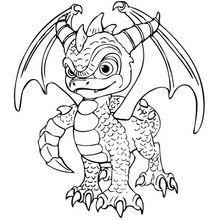 Spyro Coloring Page Coloring Page Super Heroes Coloring Pages