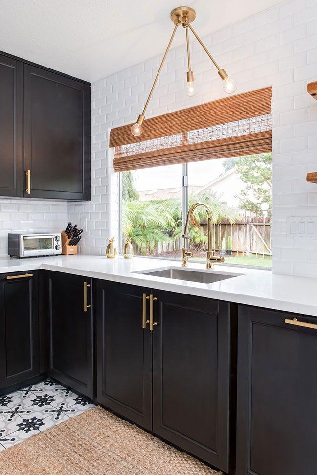 Arizona tile design corners also open shelving in the kitchen farmhouse white cabinets story rh pinterest