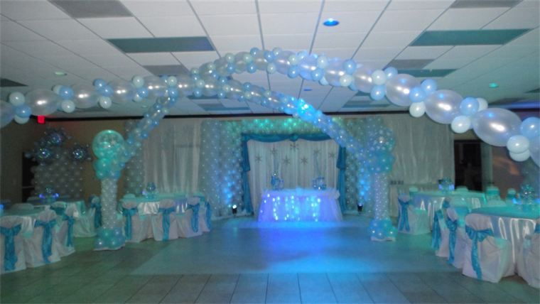 Tiffany Sweet 16 Party Ideas | Sweet 16 Themes Blue Event ...