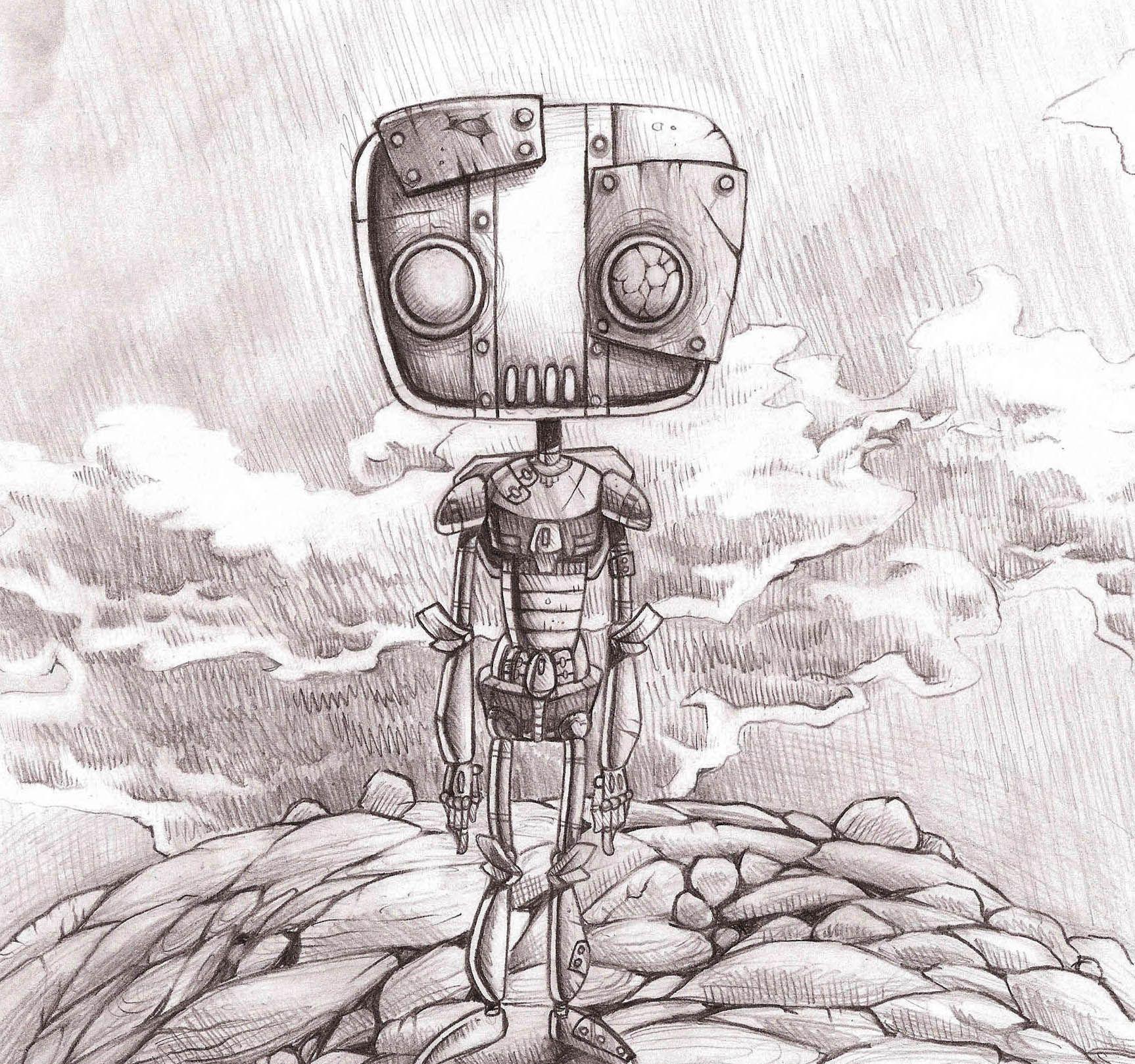 Pencil robot