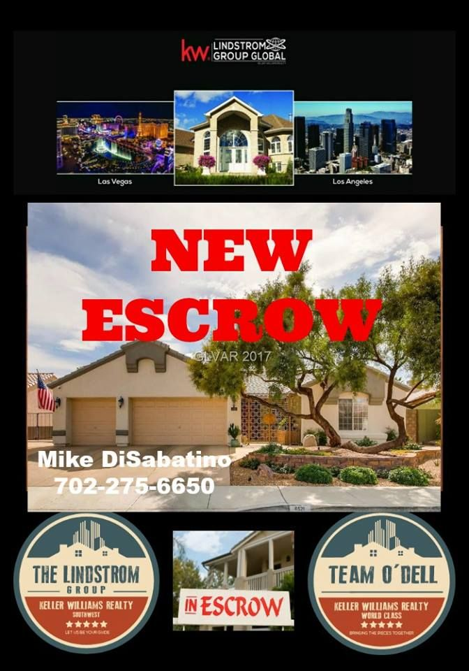 Congratulations To Our Newest Home Buyer For Getting Your Offer Accepted And Opening Escrow At Lindstrom Group Lasve New Home Buyer Las Vegas Home Buying