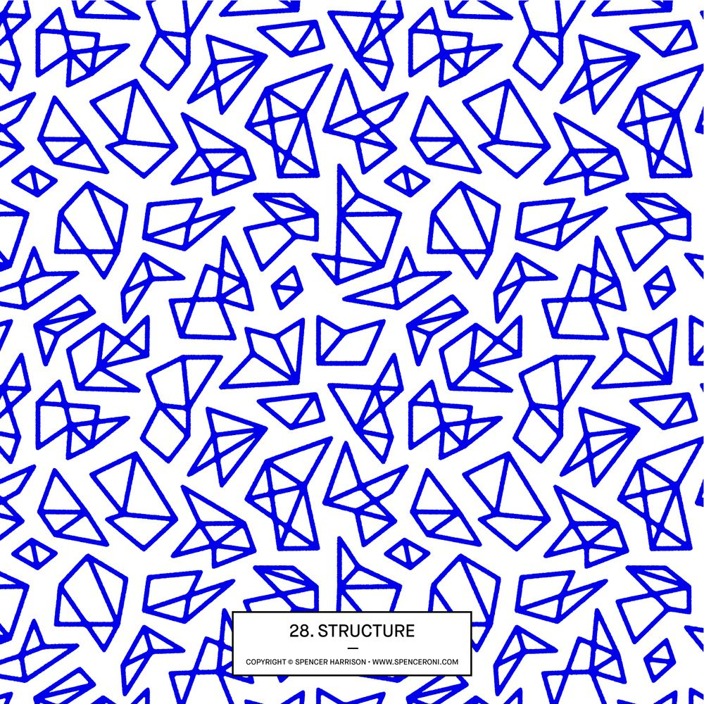 Spenceroni Pattern Library Graphic Print Patterns Surface
