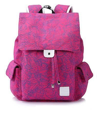 Canvas Backpacks Graphic Printing Unisex Mochila Masculina (4 colors)