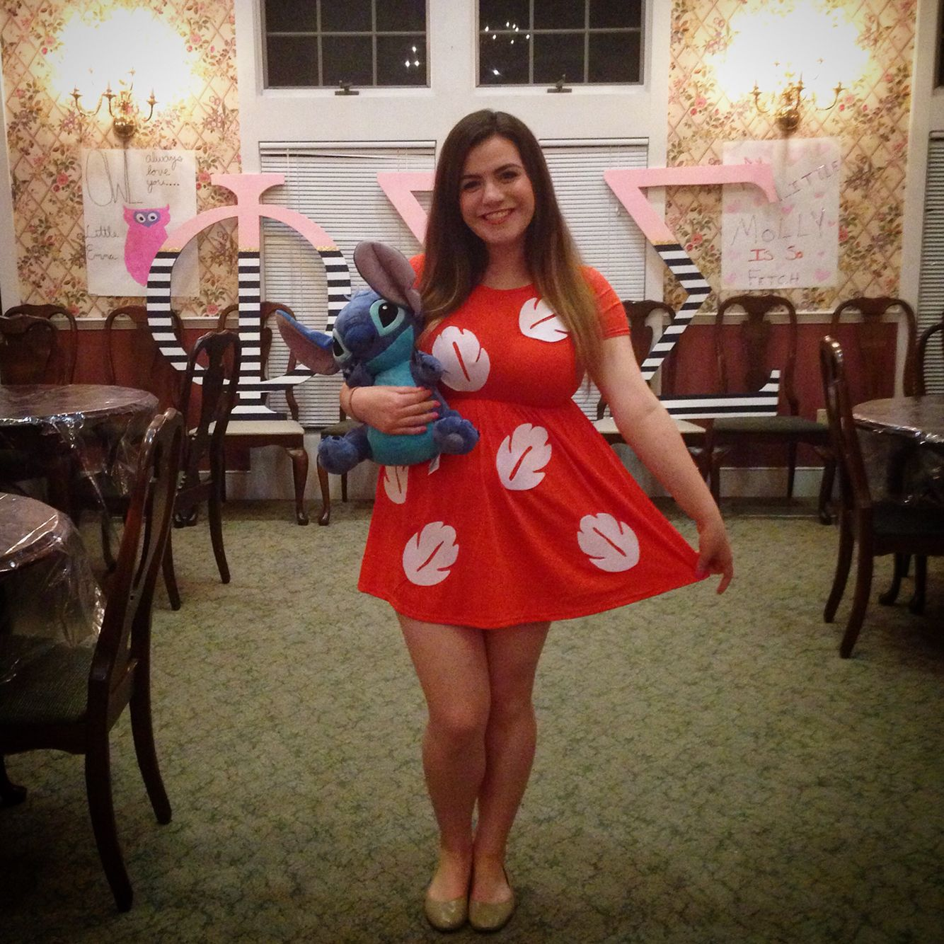 Lilo & Stitch Halloween costume! (Just find a red dress, use ...