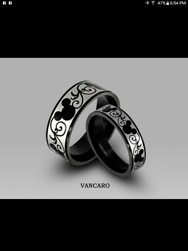 Perfect Wedding Bands For Mickey Mouse Lovers