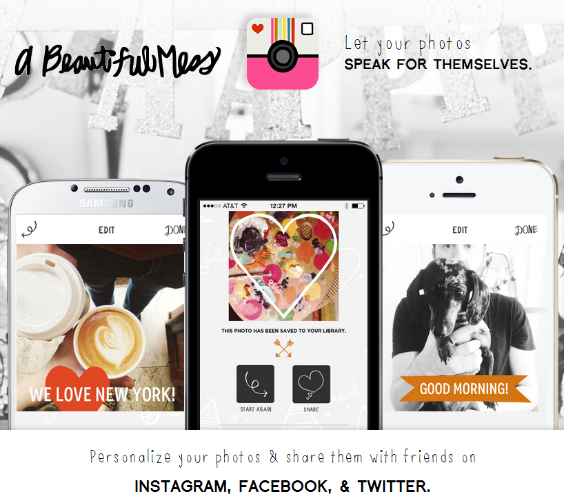 Better Photo Project - Week Five - Mobile apps