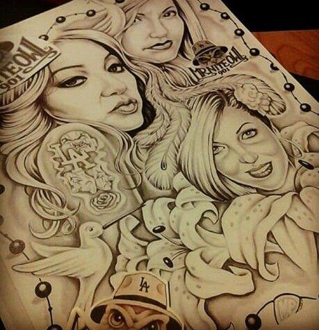 Chicano arte chicano pride arte chicano tatuajes - Brown pride drawings ...