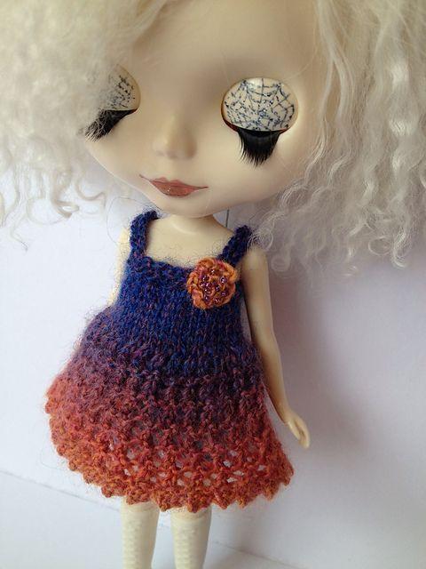 Knit Blythe Lacey Dress Free Pattern | vestido en crochet ...