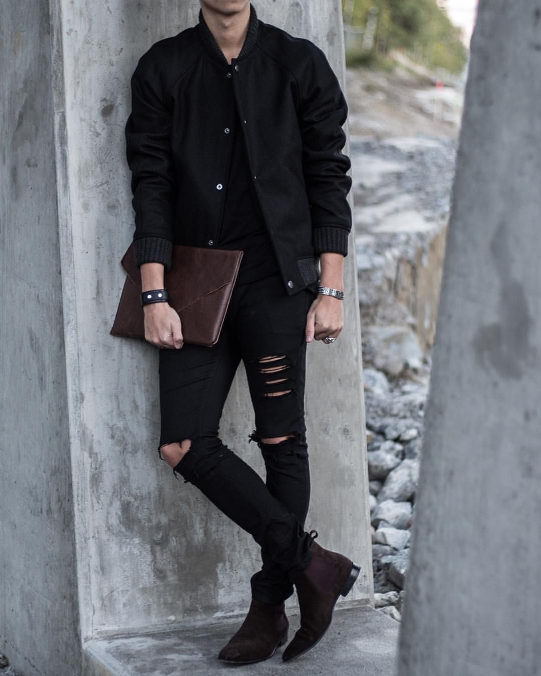 Hampus On Instagram Hampus Style A P C Wool Bomber Jacket River Island Stylish Mens Outfits Men Fashion Casual Outfits Mens Clothing Styles [ 1350 x 1080 Pixel ]