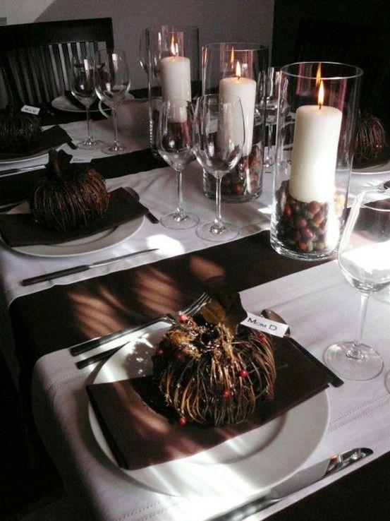 Great Thanksgiving table decor ideas