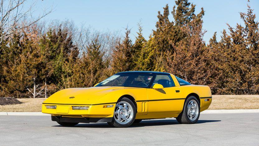 1990 Chevrolet Corvette Zr1 118 Miles Mecum Auctions Chevrolet Corvette Corvette Zr1 Corvette