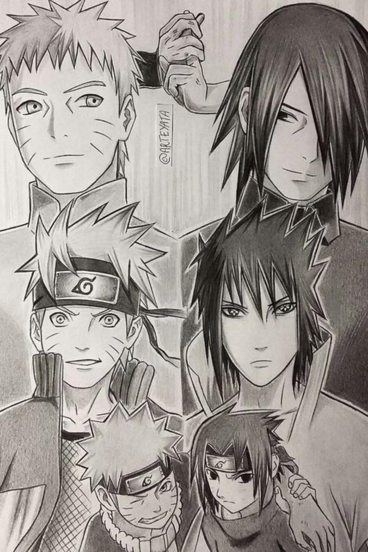 Photo of ?Naruto & Sasuke Aprenda A Desenhar Assim ?