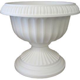 Grecian Urn Planter in White