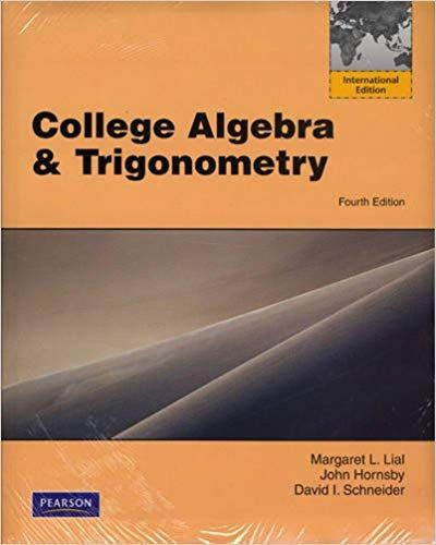 Instructors Manual Solution Manual For Title College Algebra And