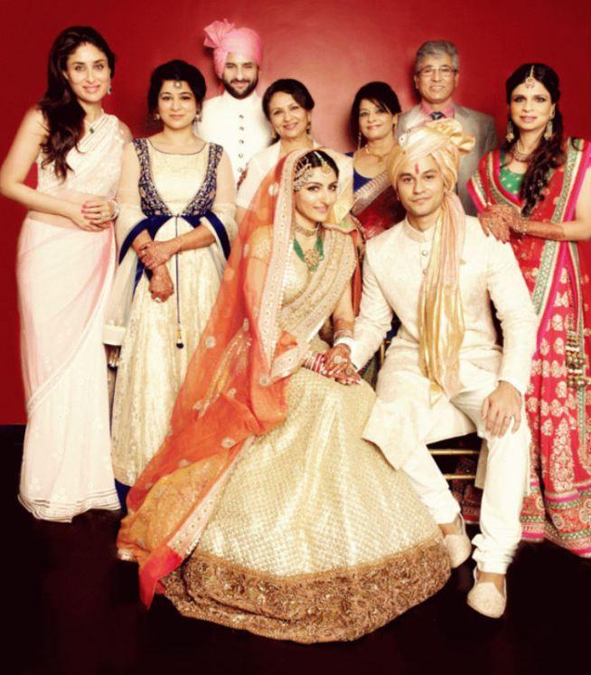 Soha Ali Khan Along With Her Royal Family Mother Sharmila Tagore Saif Kareena Kapoor Saba And Others Welcomed Their Newest Edditon To