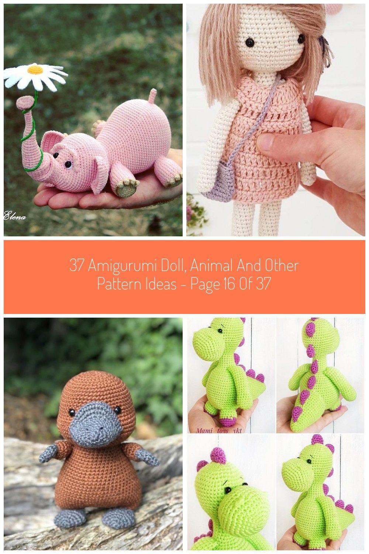 A little heart bunny, free pattern by lilleliis ❥Teresa Restegui http://www. pinterest.com/teretegu…   Brinquedos de crochê, Bichinhos de croche,  Brinquedos de tricô   1500x1000