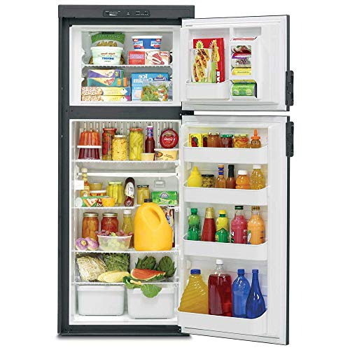 Dometic Dm2652rb Americana Double Door Rv Refrigerator 2 Way 6 Cu Ft Refrigerator Rv Refrigerator Refrigerator Freezer