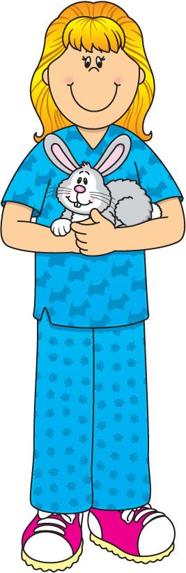 Royalty Free Veterinary Technician Clip Art, Vector Images ...   Cartoon Vet Tech