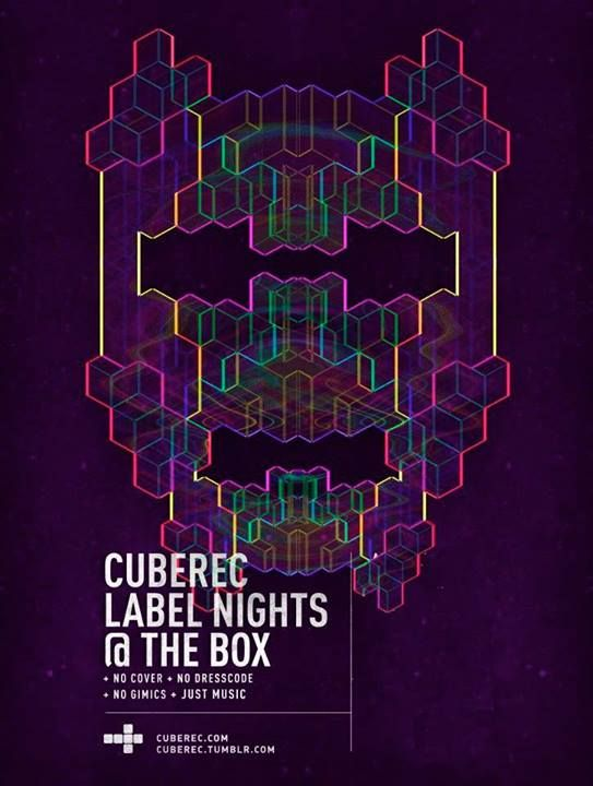 CubeRec Label Nights @ Guatemala