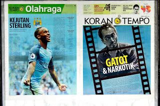 Berita Indonesia:  Koran Tempo 30 Agustus 2016