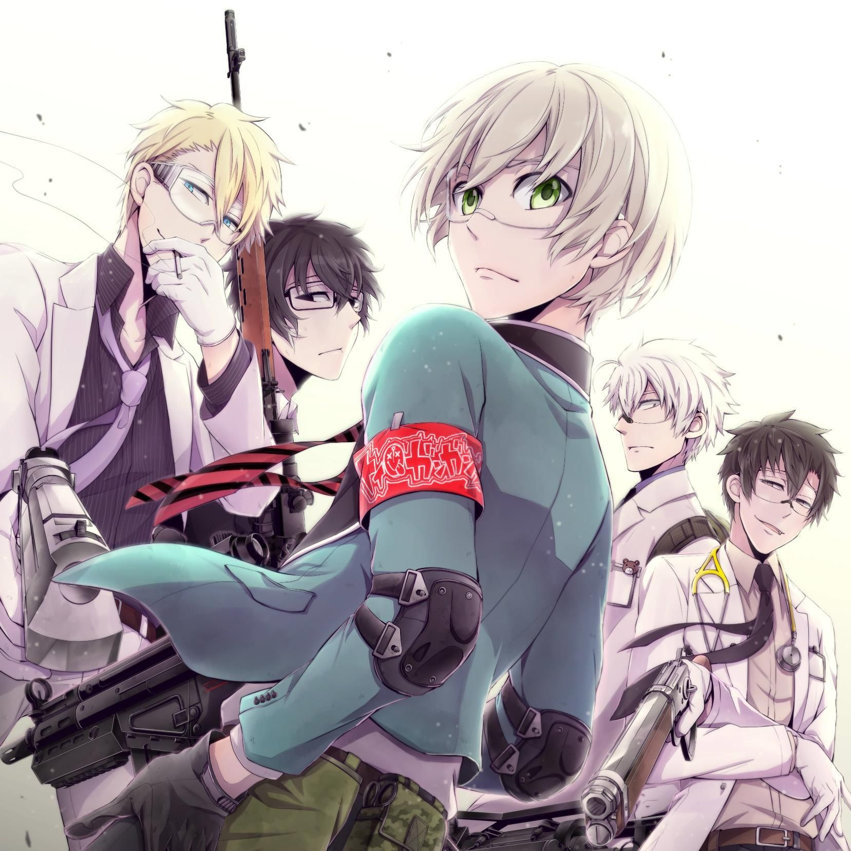 aoharu x kikanjuu anime Pinterest Anime, Aoharu x