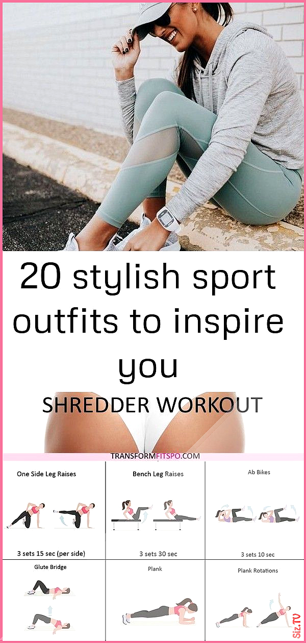 20 stylish sport outfits to inspire you 20 stylish sport outfits to inspire you ...    20 stylish sp...