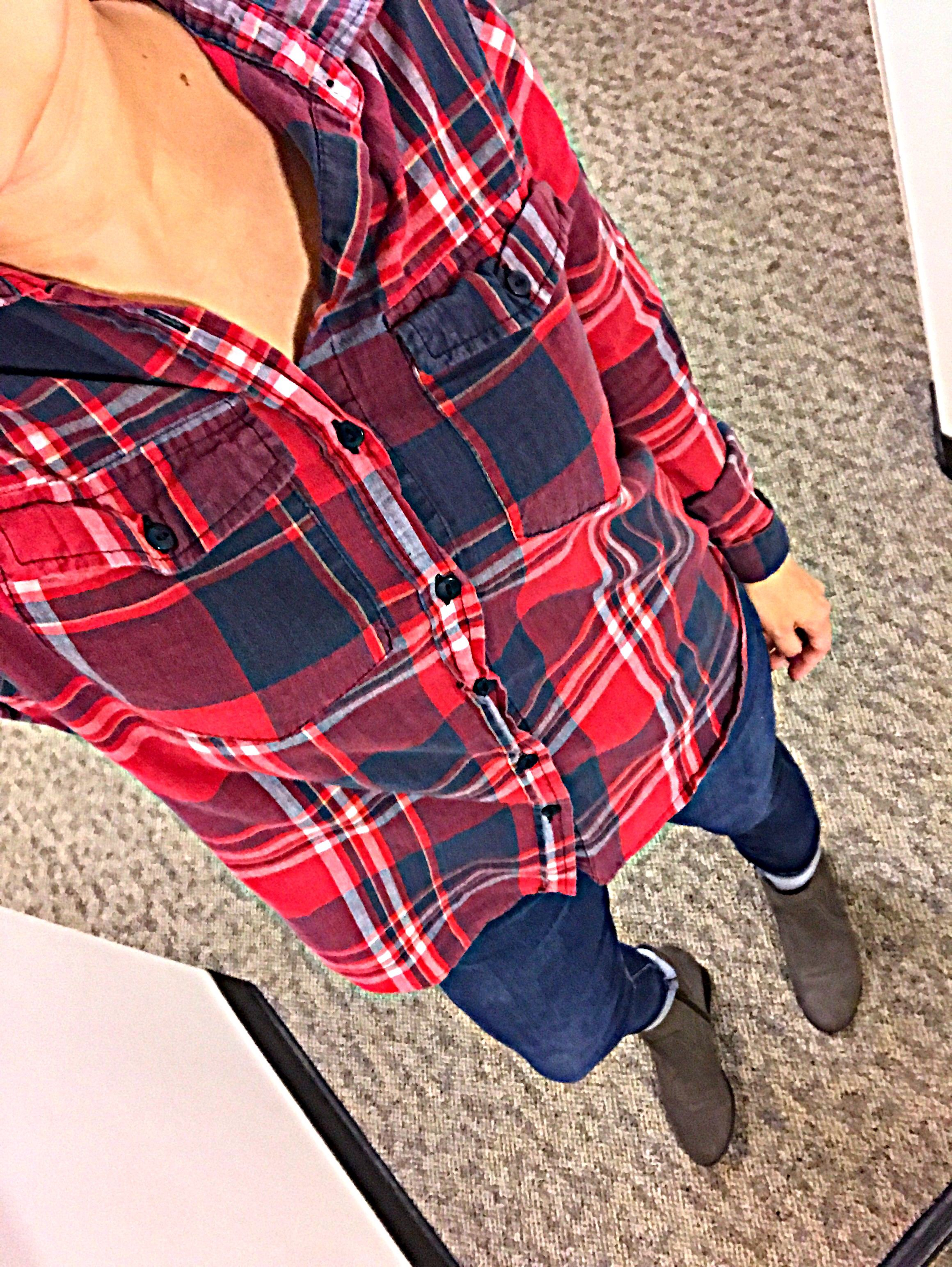 Flannel with jeans and boots  Flannel Jeans Boots fall fashion style flannel fashionblogger