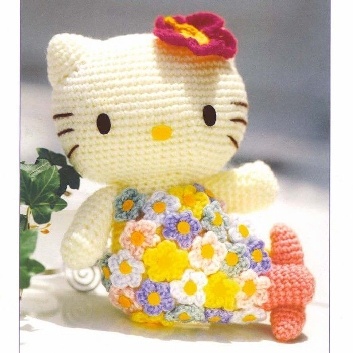 Ravelry: Big Hello Kitty pattern by Ella.D Design | 700x700