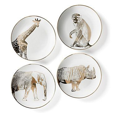 Dining Room Inspiration Safari Plates