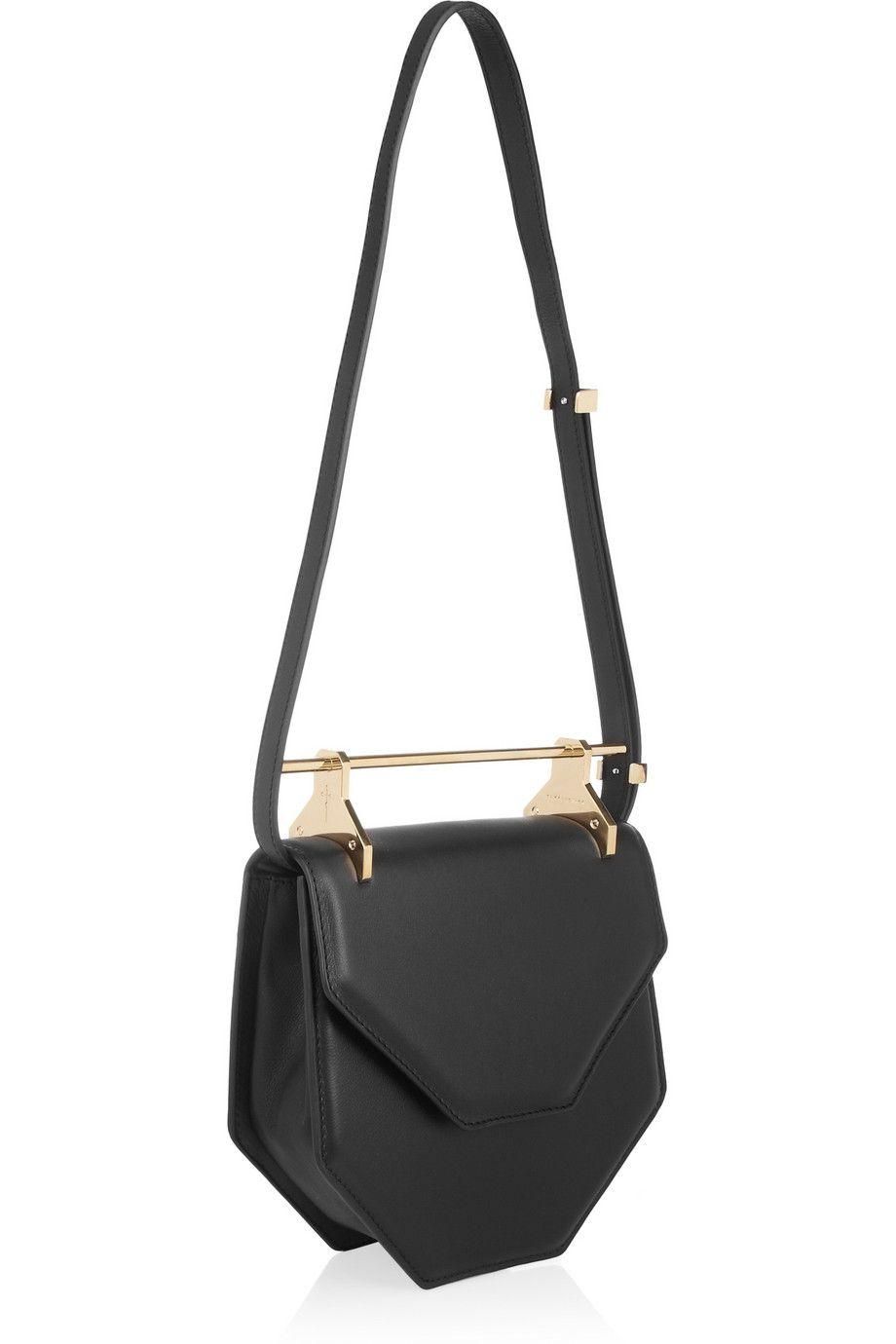 M2Malletier Amor Fati leather shoulder bag NET-A-PORTER.COM