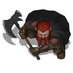 Nain Dwarf Token Jdr Dd Tokens