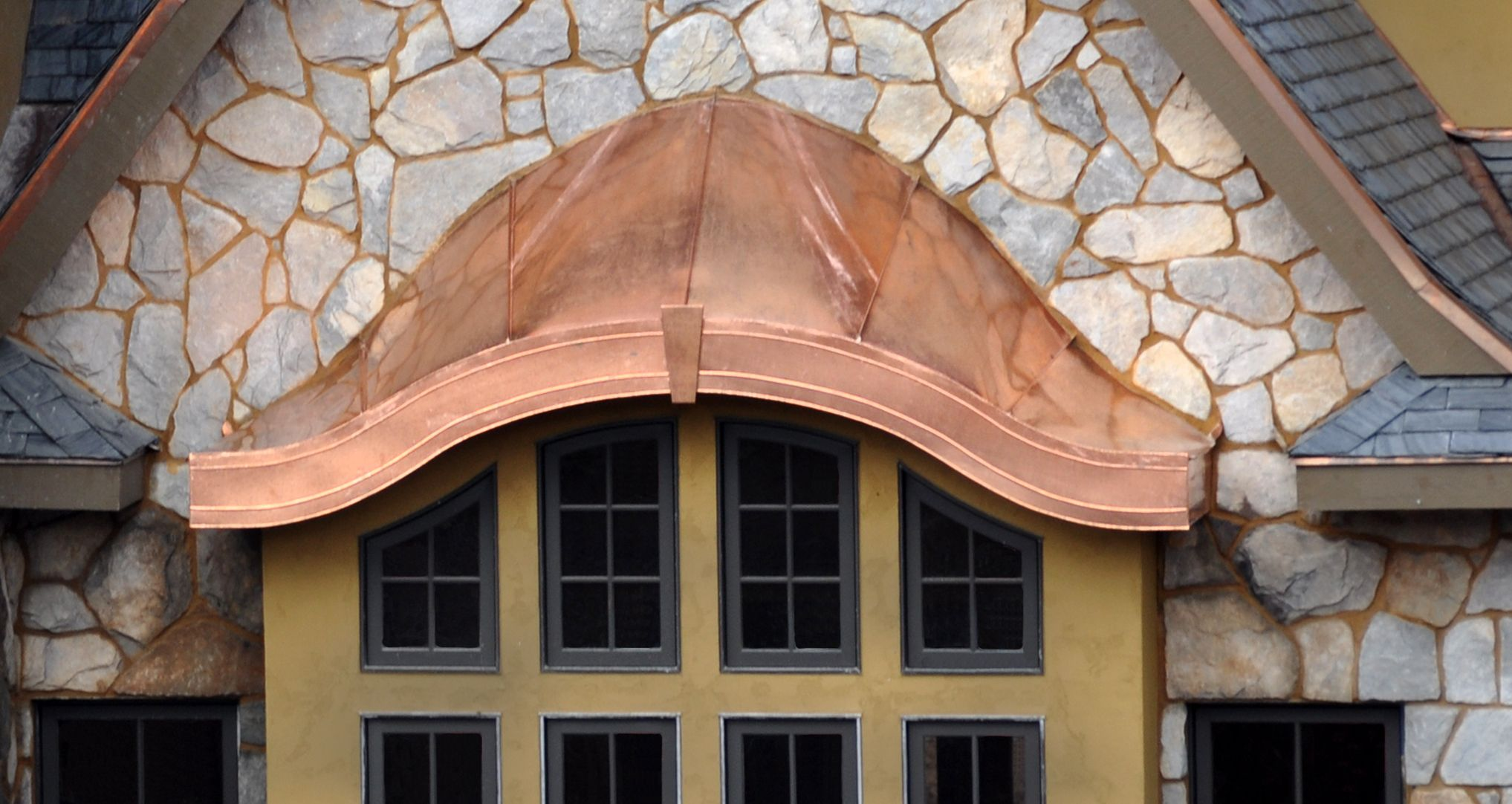 Eye Brow Copper Roof Fun Whimsical Architecture