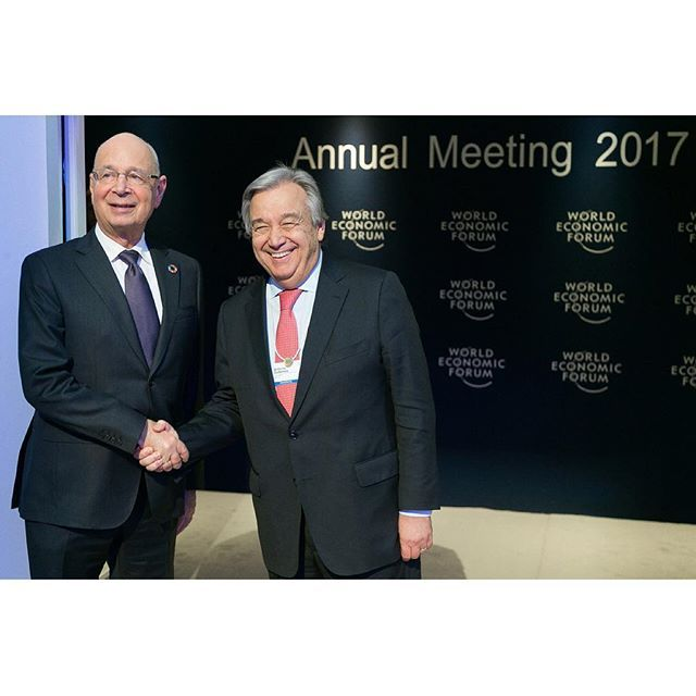Klaus Schwab Founder And Executive Chairman Of The World Economic Forum Wearing The Grand Cordon Of The O Klaus Schwab World Economic Forum Famous Freemasons