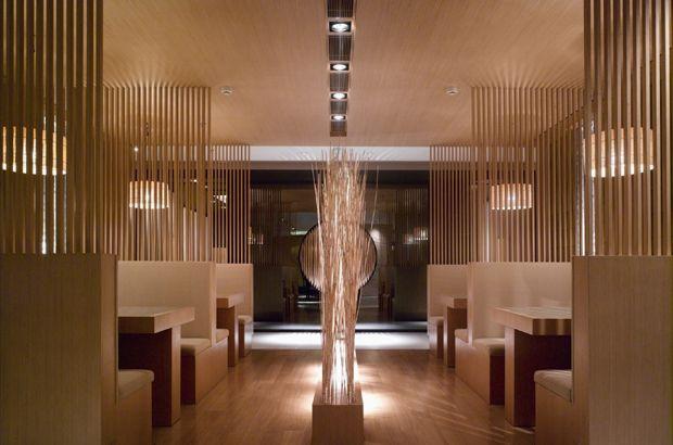 Wooden Best Interior Design Japanese Restaurant With Images