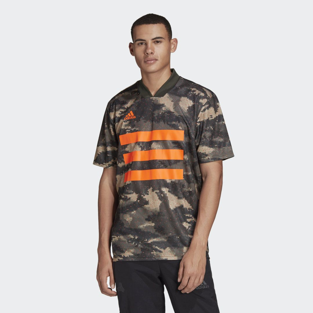 adidas TAN Graphic Jersey - Brown | adidas US | Mens khakis ...