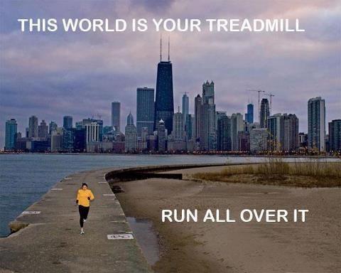 Chicago running Fitness motivation mindwalker