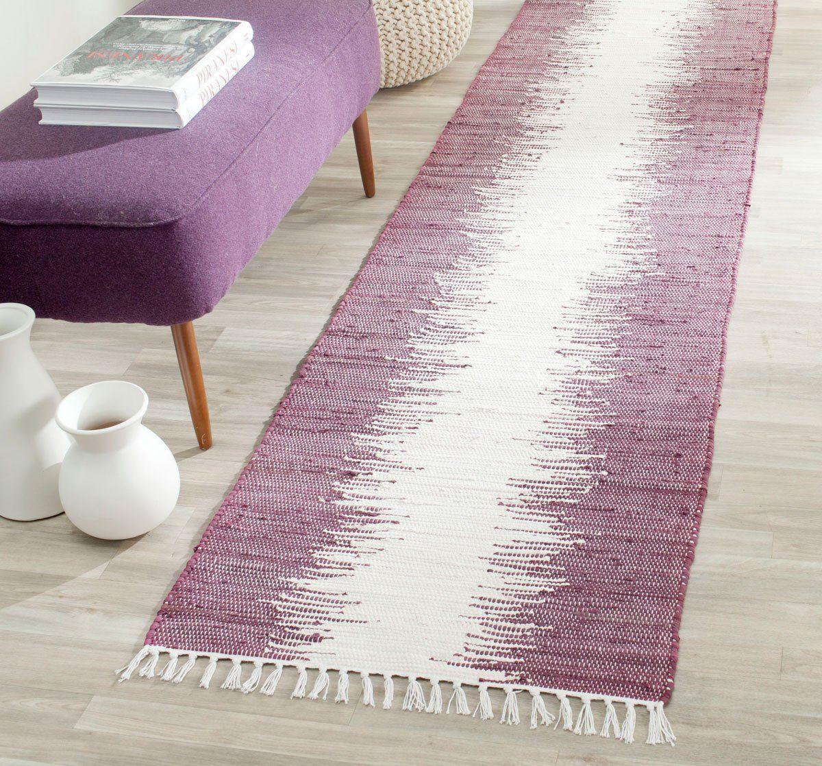 Safavieh Montauk MTK751D Purple Rug