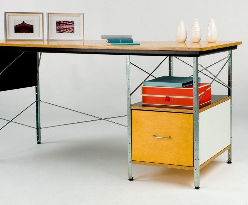 herman miller eames desk unit furniture desk eames home rh pinterest com